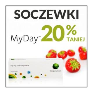 Soczewki kontaktowe MyDay 20% taniej!
