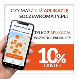 All products up to 10% with Soczewkomaty.pl app